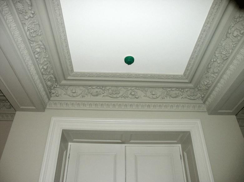 Classic Ceiling Molding interior Design - Cream & Browne