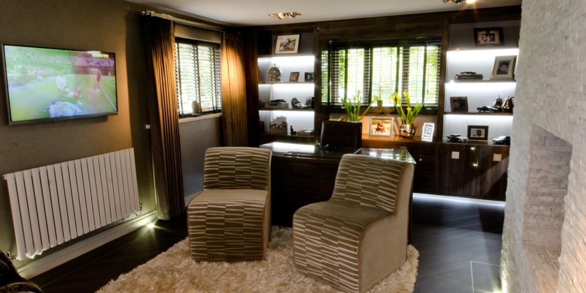 Bespoke study Interior furnishings and joinery