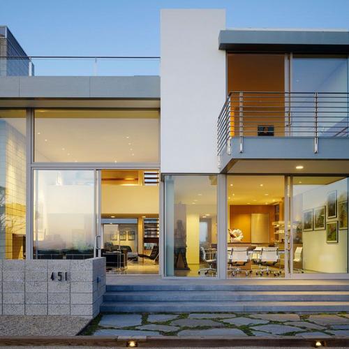 contemporary outside home exterior