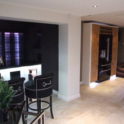 Bespoke kitchen and bar design warwickshire