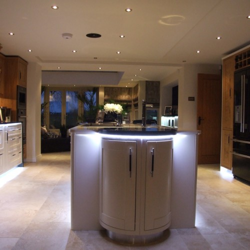 Family home kitchen interior design warwickshire