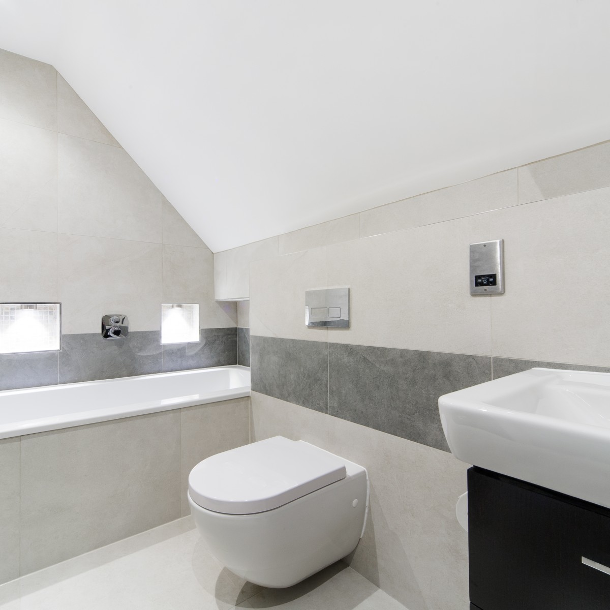 Modern bathroom design birmingham