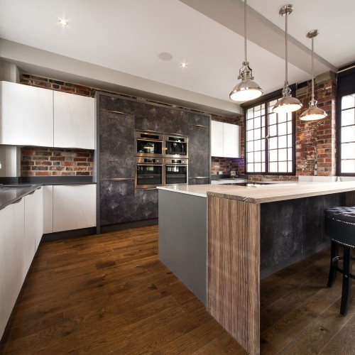 Urban Loft apartment Kitchen design