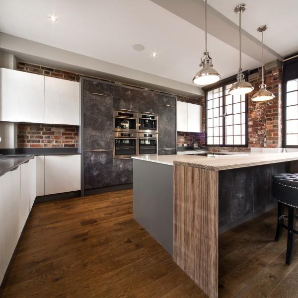 Urban Loft apartment Kitchen design