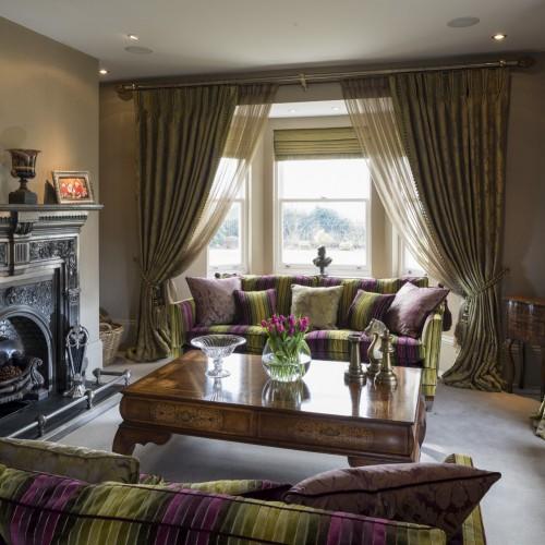 modern classic living room