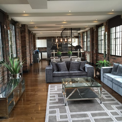 Urban loft apartment birmingham