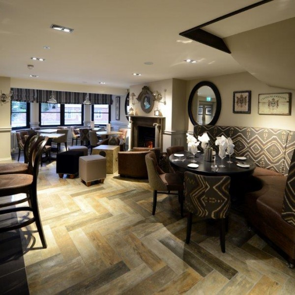 The plough pub at shenstone interior designed seating area