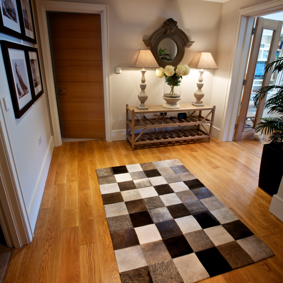 Hallway design dartmouth apartment