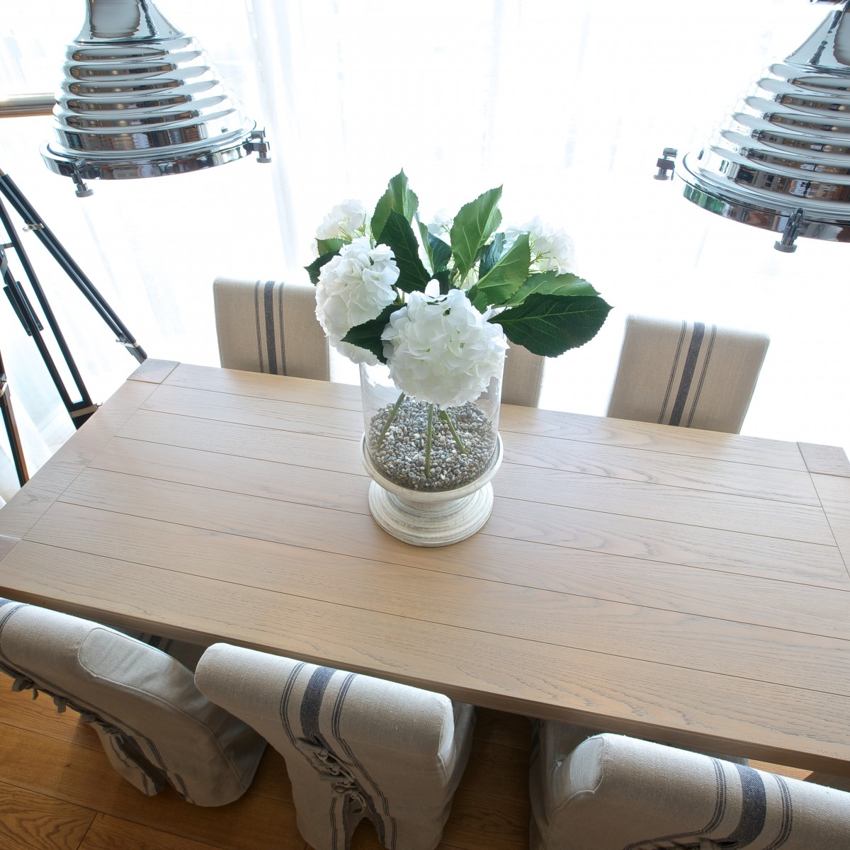 Dining table interior design