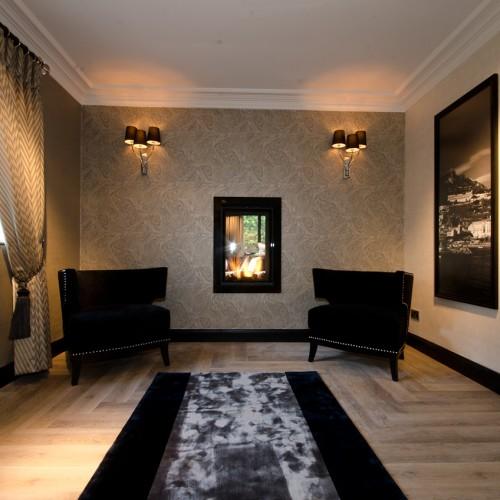 Herringbone flooring design