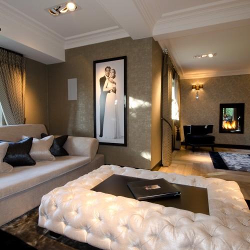 Upholstered Coffee Table & bespoke soft furnishings