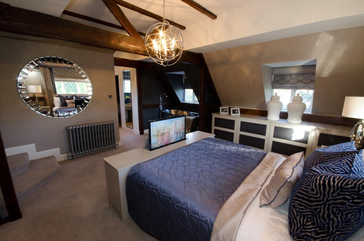 Modern classic interior design projects cream browne for Interior design studio uk