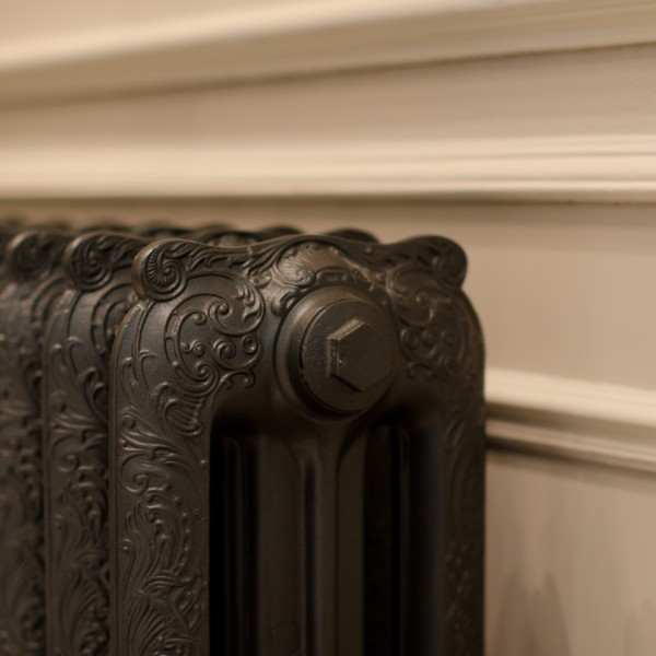 traditional detail on radiator