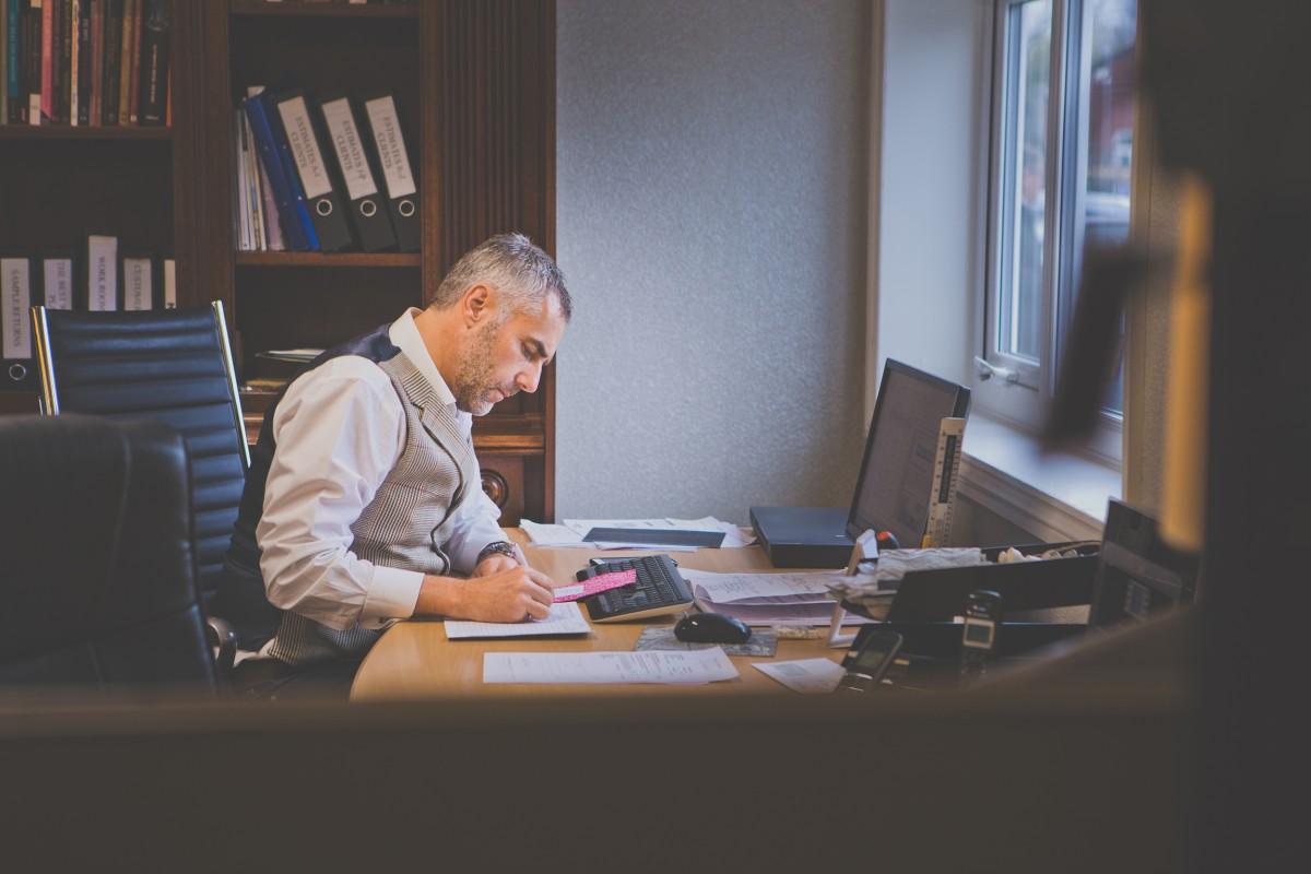Photo of Simon edkins the lead interior designer
