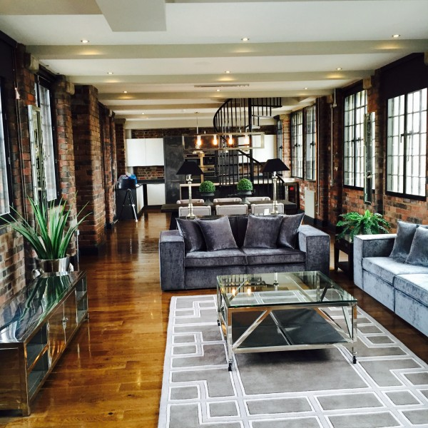urban living room apartment