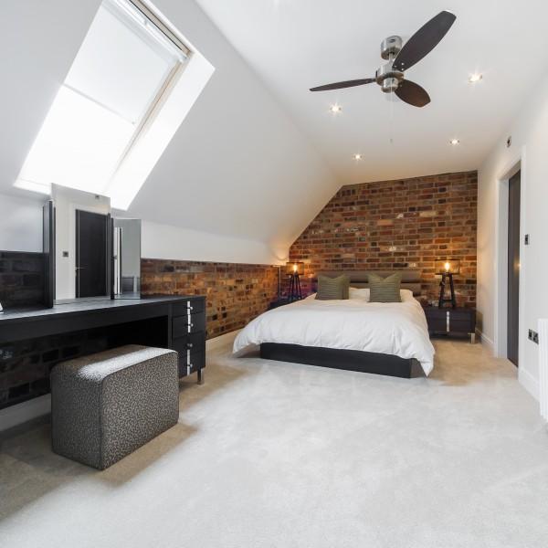 urban apartment bedroom design