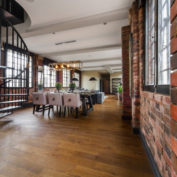 urban dining room loft apartment
