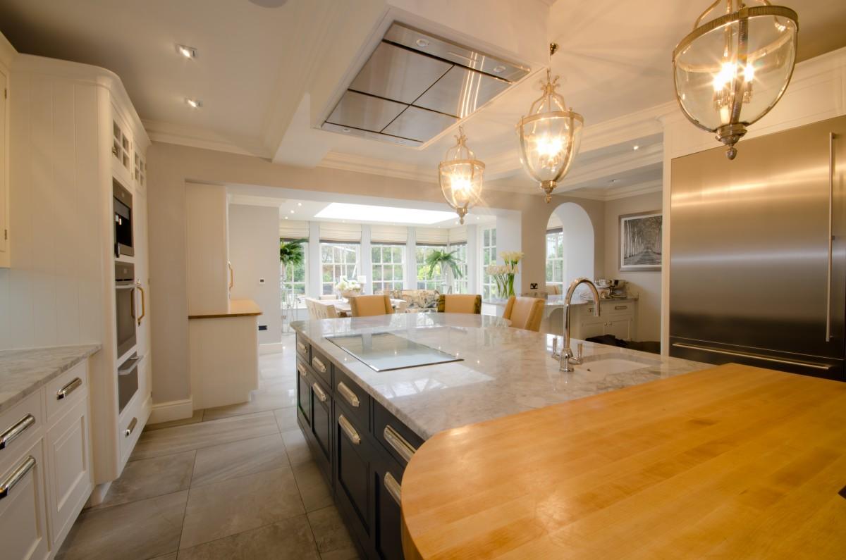 Kitchen orangery interior design build projects for Interior design studio uk