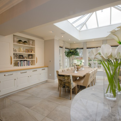 Orangery and Kitchen Interior Design Staffordshire