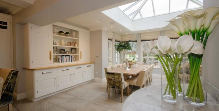 Orangery and Kitchen Interior Design Staffordshire