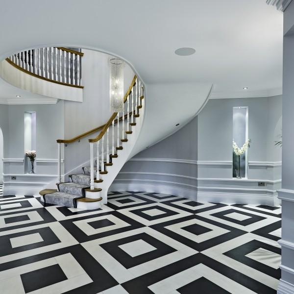 hall way interior design sutton coldfield