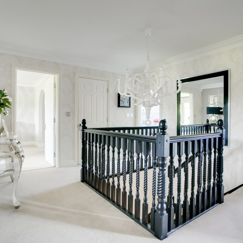 Hall, stairs and landing interior design sutton coldfield