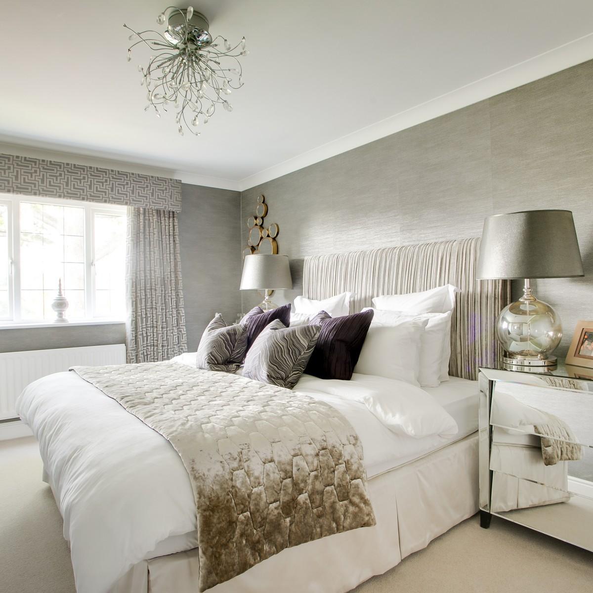 Modern classic executive guest bedroom design