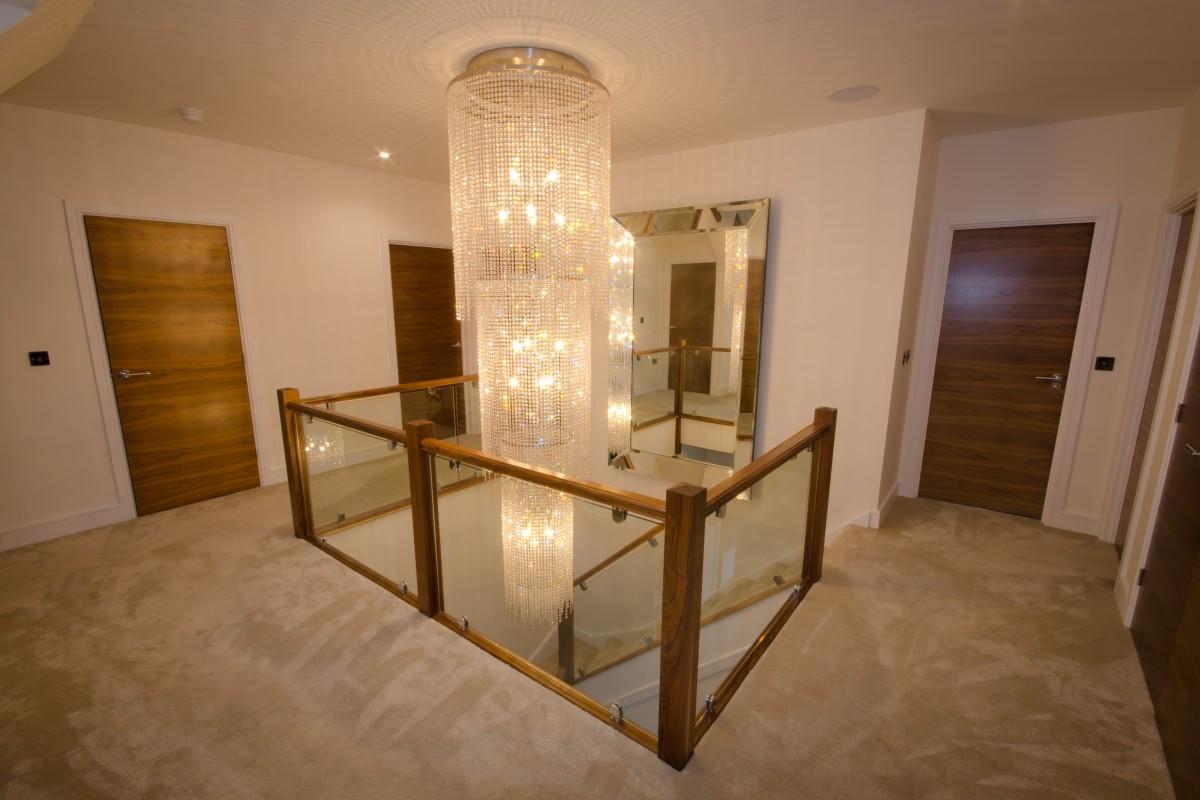 Large chandelier design for four oaks home interior design